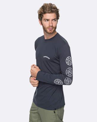 Quiksilver Mens Next Steps Technical Long Sleeve T Shirt
