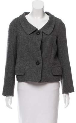 Hache Wool Herringbone Jacket