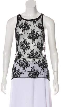 Alessandro Dell'Acqua Sleeveless Lace Top w/ Tags
