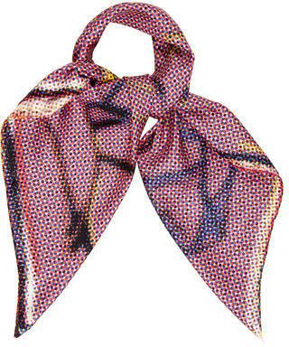 Jimmy ChooJimmy Choo Printed Silk Scarf w/ Tags