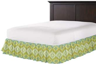 Loom Decor Ruffle Bedskirt Azteca - Daiquiri