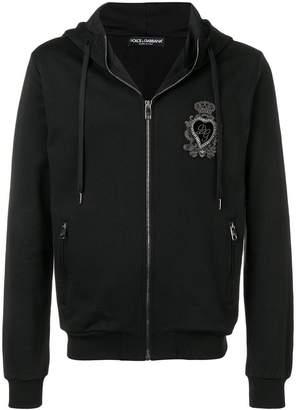 Dolce & Gabbana Heart patch hoodie