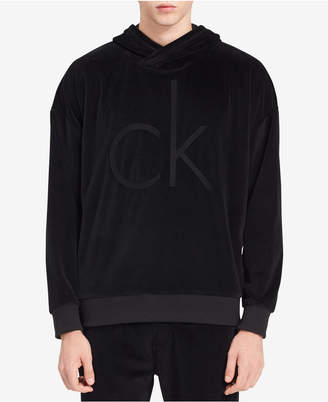 Calvin Klein Jeans Men's Oversized Cocoon Velour Sweater