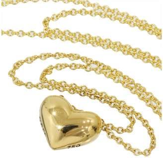 Tiffany & Co. 18K Yellow Gold Heart Pendant Necklace