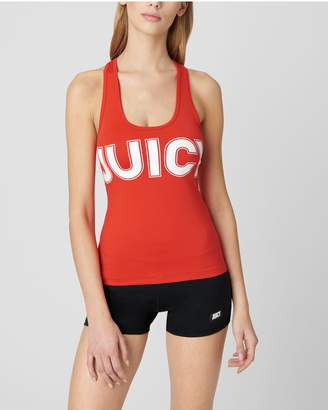 Juicy Couture JUICY LEOPARD GRAPHIC SPORT TANK