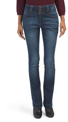 High Waist Skinny Bootcut Jeans