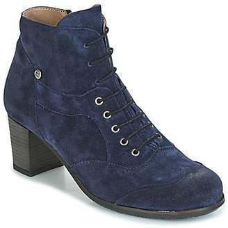 dkode VALYN-DEEP-NAVY-017 women's Low Boots in Blue