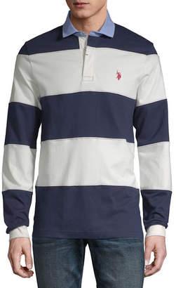 U.S. Polo Assn. USPA Mens Long Sleeve Polo Shirt