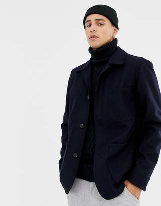 Selected patch pocket jacket