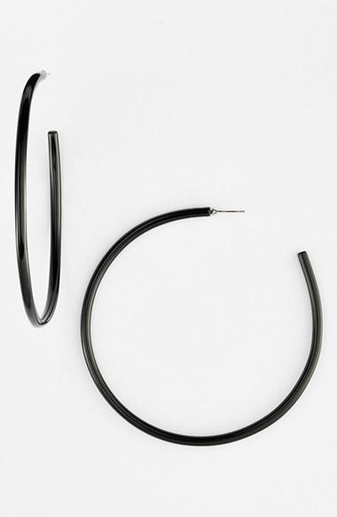 Women's L Erickson 'Jumbo' Hoop Earrings