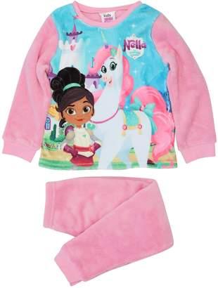 M&Co Nella the Knight fleece pyjamas