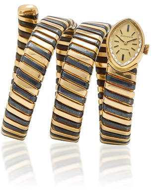 Bulgari Vintage 18K Gold Tubogas Watch