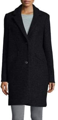 Andrew Marc Long-Sleeve Notch Coat