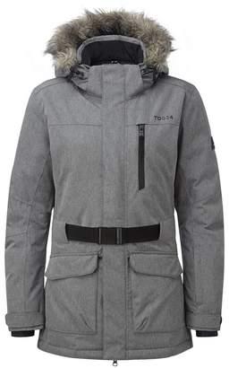 dbef1bee7c Tog 24 - Grey Marl Aria Womens Waterproof Insulated Ski Jacket
