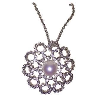 Mikimoto White Gold Necklace