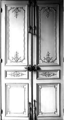 """Maison Margiela Trompe-L'oeil """"Haussmann Door"""" Sticker"""