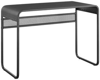 Walker Edison 42 Modern Urban Industrial Metal Writing Computer Desk With Curved Top
