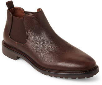 Warfield & Grand Brown Vesey Leather Ankle Boots