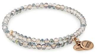 Alex and Ani Brilliance Icy Mirage Expandable Wrap Bracelet