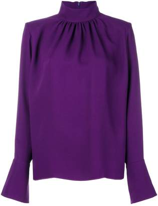 Marc Jacobs stand-up collar blouse