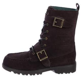 Polo Ralph Lauren Boys' Suede High-Top Boots w/ Tags