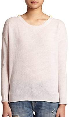 Chinti and Parker Women's Cashmere Colorblock Sweater