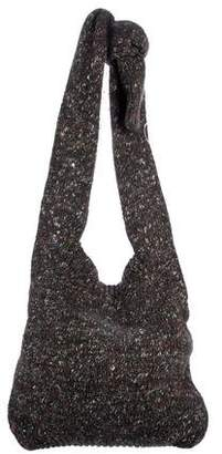 Stella McCartney Alpaca & Wool-Blend Chunky Knit Sweater Bag