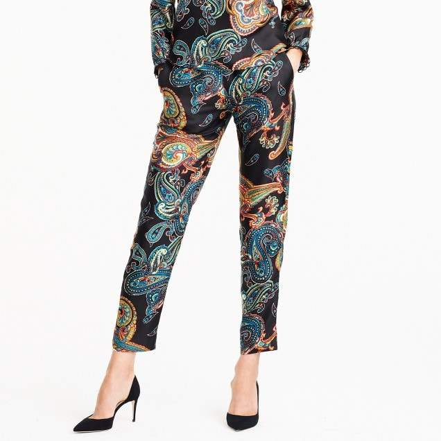 Tall Pull-on pant in paisley