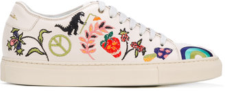 Paul Smith embroidered motif Basso sneakers $550 thestylecure.com