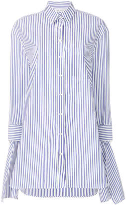Neil Barrett striped poplin shirt