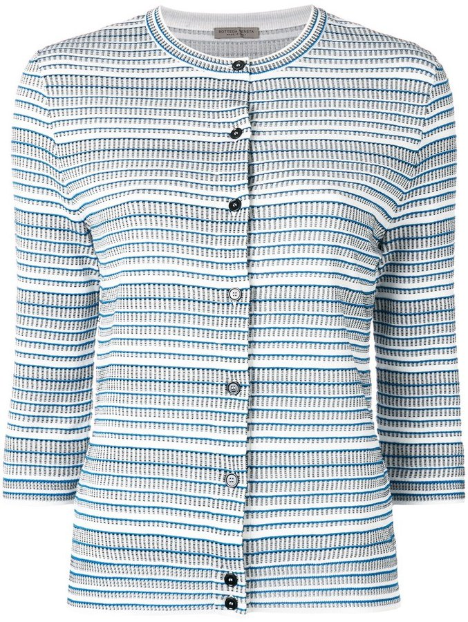 Bottega Veneta Bottega Veneta striped cardigan