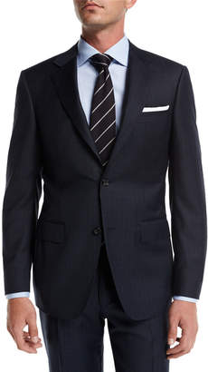 Canali Check Super 130s Wool Two-Piece Suit