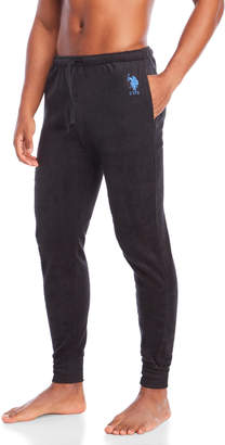 U.S. Polo Assn. Logo Fleece Pajama Pants