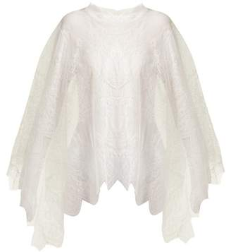 Maria Lucia Hohan Delphine Chantilly Lace Cape - Womens - White