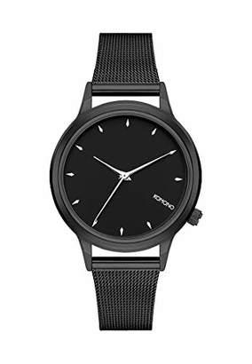 Komono Womens Analogue Quartz Watch with Stainless Steel Strap KOM-W2768