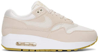Nike Beige Air Max 1 Sneakers