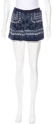 Emma Cook Silk Mini Shorts