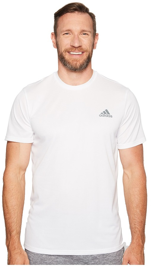 adidas - Essentials Tech Tee - Big Tall Men's Short Sleeve Pullover