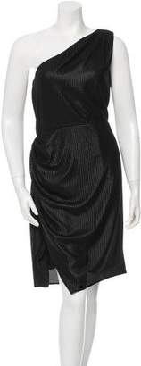 Alexander Wang One-Shoulder Mini Dress