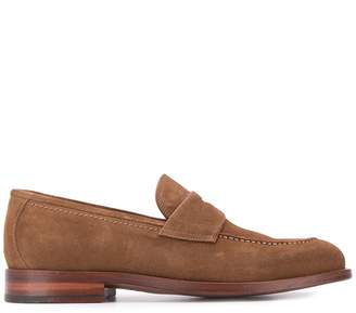 N.D.C. Made By Hand Crock Saddle soft loafers