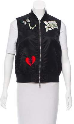 Cinq à Sept Kingston Embroidered Vest