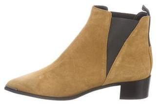 Acne Studios Pointed-Toe Ankle Boots