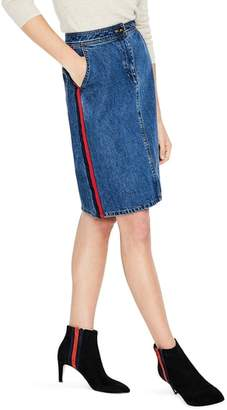 Boden Penny Denim Skirt