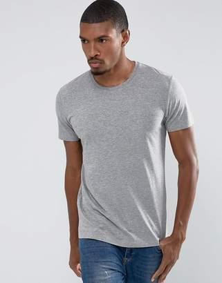 Esprit organic cotton t-shirt in gray