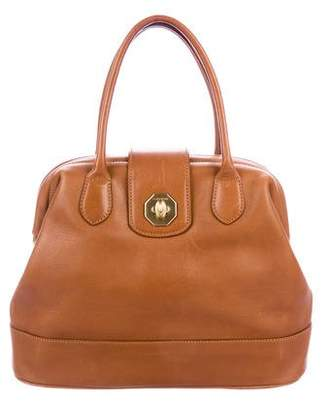 a. testoni a.testoni Smooth Leather Handle Bag