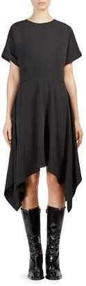 Kenzo Women's Crewneck Asymmetrical Dress