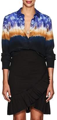Altuzarra Women's Chika Tie-Dyed Silk Blouse