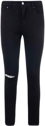 Armani Collezioni Super Skinny Shredded Powerstretch Jeans