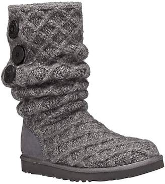 UGG Women's Woven Wool Knit Tall Boots