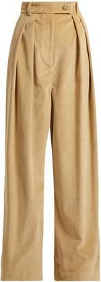 Awake Wide-leg corduroy trousers
